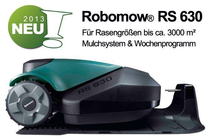 rasenroboter robomow rs 622 test. Black Bedroom Furniture Sets. Home Design Ideas